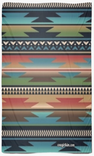 "Cowgirl Kim Apache River Scarf - Large 55"" X 55"" - Pre Order"