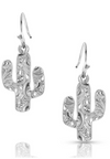 Montana Silversmith Desert Full Moon Cactus Earrings