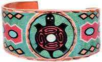 Cowgirl Kim Turtle Indian Art Ring
