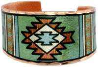 Cowgirl Kim Papago Indian Art Ring