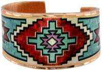 Cowgirl Kim Navajo Indian Art Ring