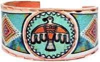 Cowgirl Kim Thunderbird Native Art Ring #2