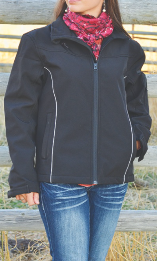 Wyoming Traders Cheyenne Jacket - Black - Large Only