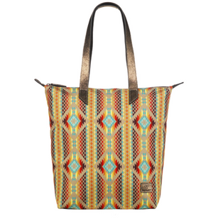 Ariat Aztec Orange Tote