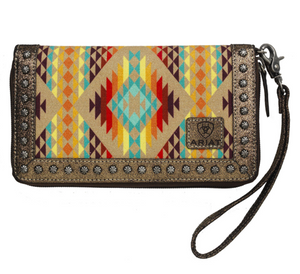 Ariat Aztec Orange 3-n-1 Wristlet Pre Order