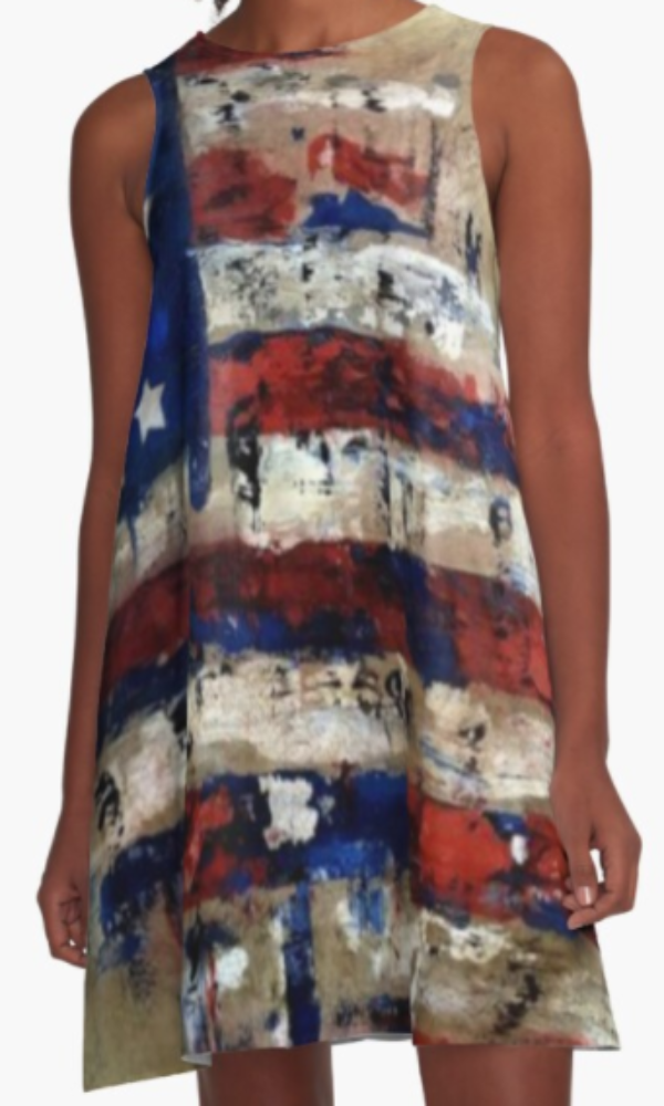 Cowgirl Kim The Patriot A-Line Dress