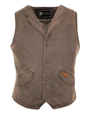 Outback Trading Co. Men's Arkansas Vest - Pre Order
