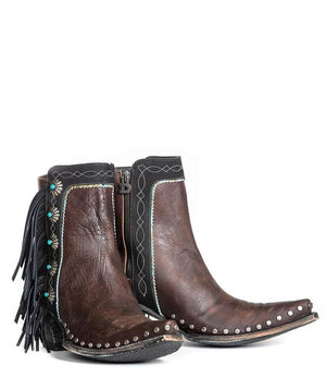Double D Ranch by Old Gringo Apache Kid Boots- Brass - Cowgirl Kim
