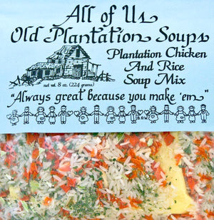 All of Us Soups & Dips - Plantation Chicken and Rice Soup - Cowgirl Kim