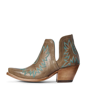 Ariat  Dixon Western Boot - Ash Brown - Cowgirl Kim