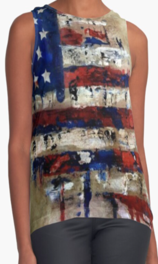 Cowgirl Kim The Patriot Sleeveless Top