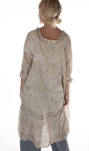 Magnolia Pearl Dress 598 Talulah Artist Smock Dress - Meadowsweet