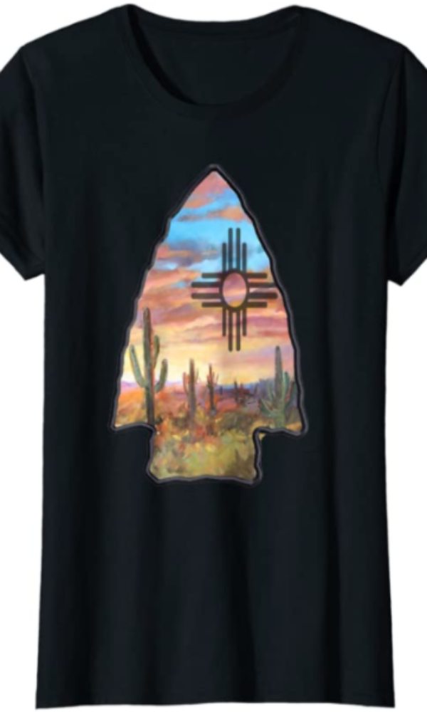 Cowgirl Kim Desert Arrow Tee