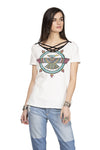 Double D Ranchwear Porter's Tunderbird Top - String   Pre-Order - Cowgirl Kim
