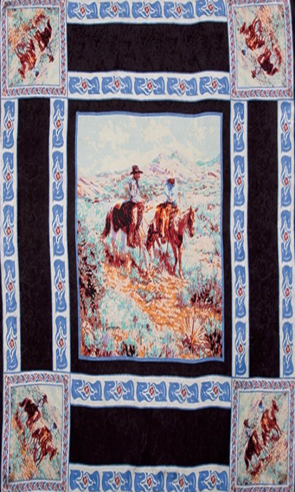 Wyoming Traders Compadres Limited Edition Silk Wild Rag