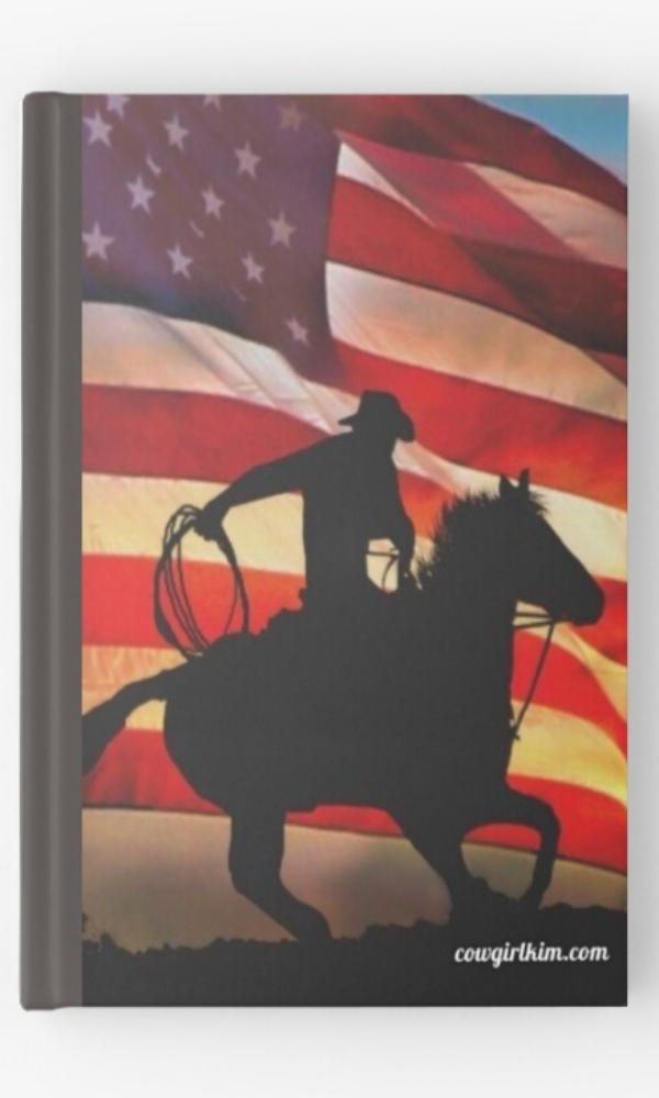 Cowgirl Kim American Cowboy Hardcover Journal