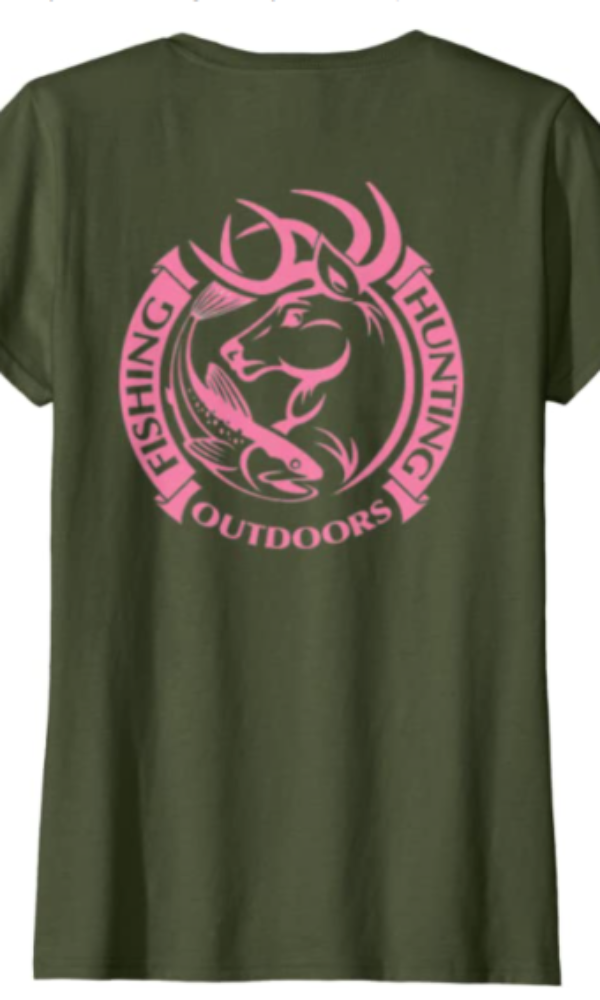 Cowgirl Kim Ladies Fishing, Hunting, & Outdoors Tee