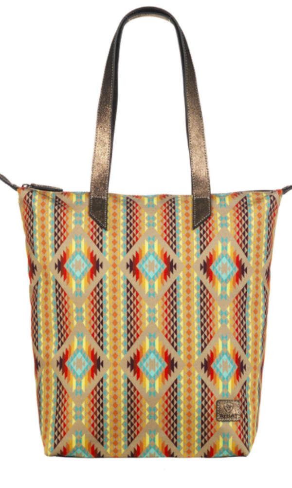 Ariat Aztec Orange Tote - Pre Order