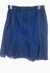 Vintage Collection Short Denim Skirt