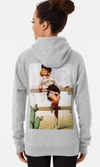 Cowgirl Kim Pin-Up Cowgirl Pullover Hoodie