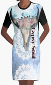 Cowgirl Kim Gypsy Soul Graphic Tee Dress
