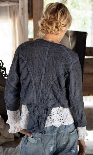 Magnolia Pearl Jacket 341 Inna Embroidered Jacket- Midnight - Cowgirl Kim