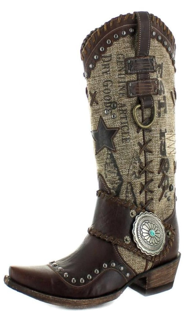 Double D by Old Gringo Mercantile Makeshifter Boot - Cowgirl Kim