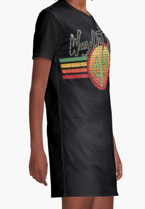 Cowgirl Kim Way Out West Graphic Tee Dress