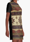 Cowgirl Kim Down Mexico Way Graphic Tee Dress - Medium Only