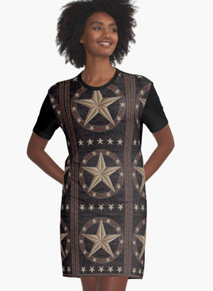 Cowgirl Kim Texas Hill Country Tee Dress