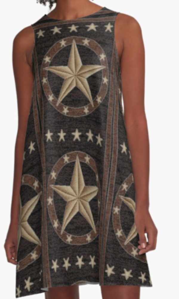 Cowgirl Kim Texas Hill Country Tank Dress - In Stock