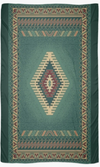 "Cowgirl Kim Turquoise Waters of Cancun Scarf - Large 55"" X 55"" In Stock"