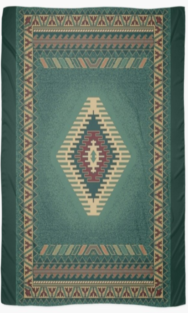 Cowgirl Kim Turquoise Waters Scarf