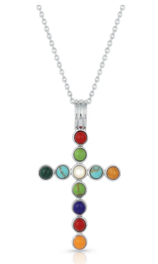 Montana Silversmith Serendipitous Cross Necklace - In Stock