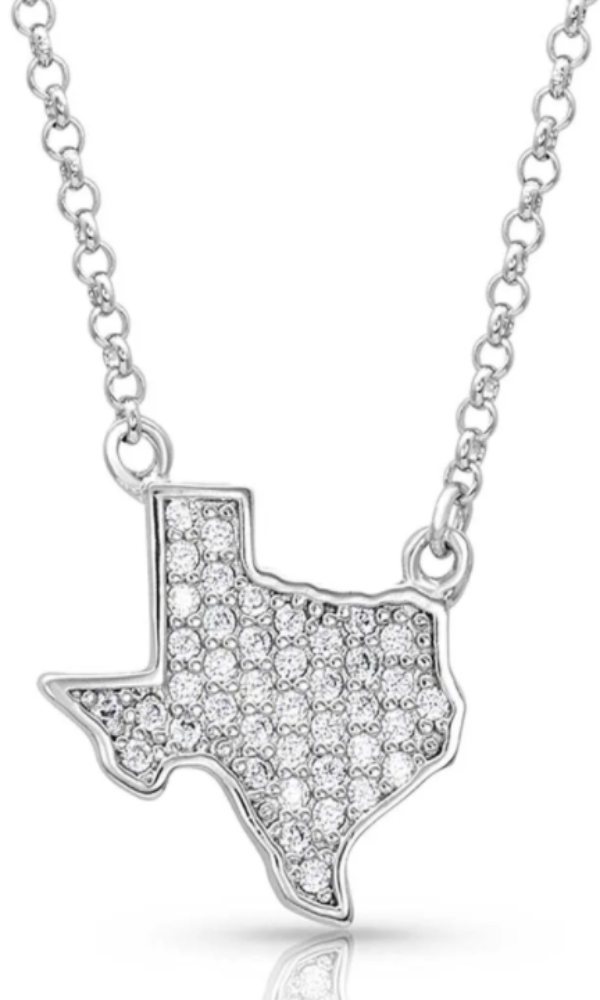 Montana Silversmith Bright Lights Sparkling Texas Necklace - In Stock