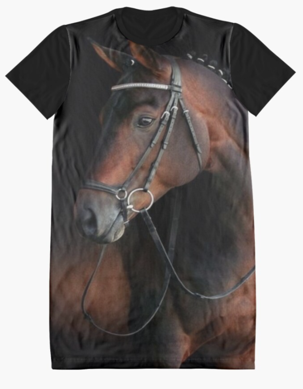Cowgirl Kim Royal Bloodlines Graphic Tee Dress