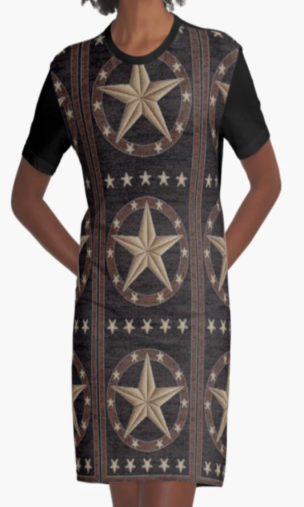 Cowgirl Kim Texas Hill Country Tee Dress - In Stock