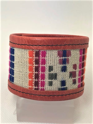 KurtMen Lakota Serape Leather Cuff - Cowgirl Kim