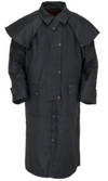 Outback Trading Co. Men's Waterproof Low Rider Duster - Black - Pre Order