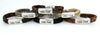 Cowboy Collectibles Ride Free Magnetic Clasp Bracelets - Light Grey - Cowgirl Kim