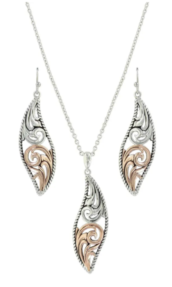 Montana Silversmith Meet at the Gates Filigree Jewelry Set - In Stock