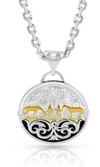 Montana Silversmith Between Friends Concho Necklace