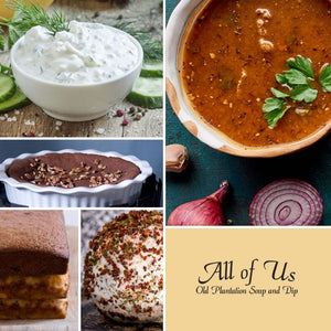 All of Us Soups & Dips - Best of Broccoli Soup - Cowgirl Kim