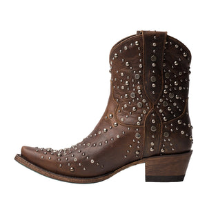 Lane Sparks Fly Ladies Ankle Bootie~ Cognac #LB0444C - Cowgirl Kim