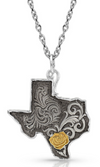 Montana Silversmith Yellow Rose of Texas Necklace