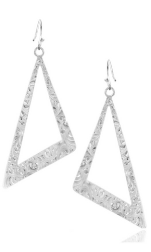 Montana Silversmith Catch A Glance Asymmetrical Earrings
