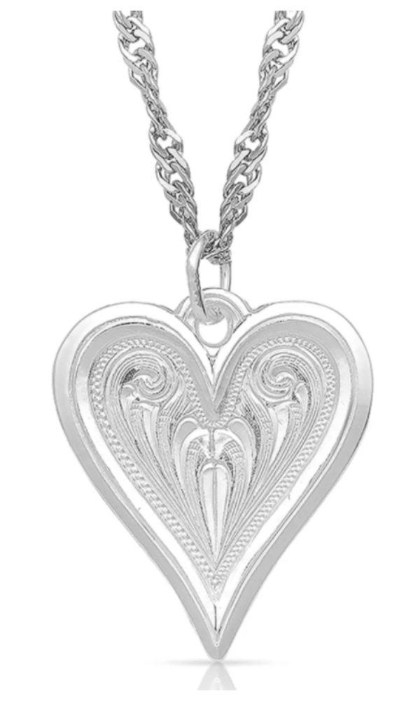 Montana Silversmith Just My Heart Necklace - In Stock