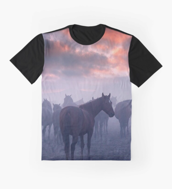 Cowgirl Kim A Foggy Morning Graphic Tee