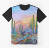 Cowgirl Kim Watercolor Desert Graphic Tee