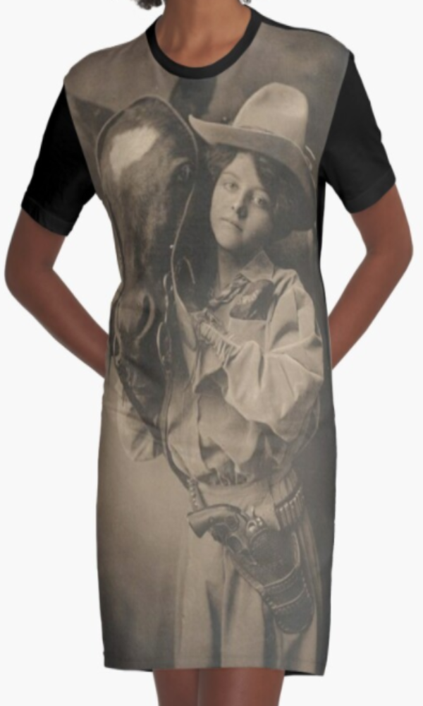 Cowgirl Kim Belle of the Ranch Graphic Tee Dress